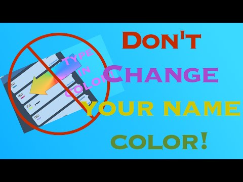 Don't Change Your Name Color On Clash Royale + How To