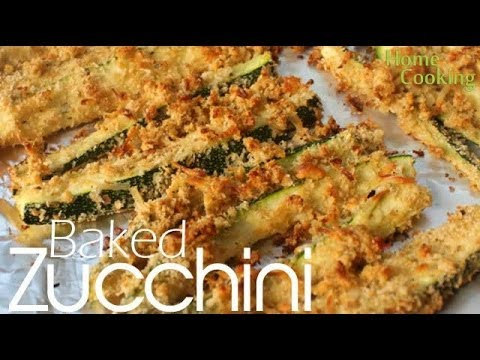 Baked Zucchini Fries Recipe   Ventuno Home Cooking