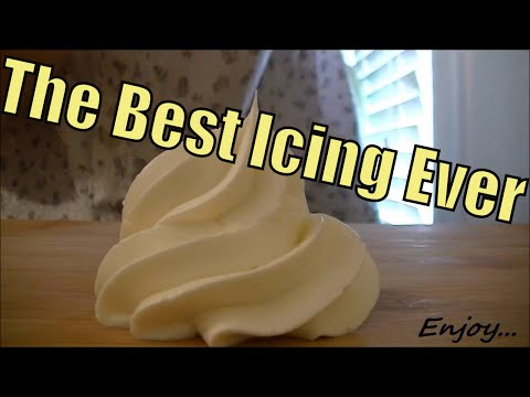 Italian Buttercream Icing Recipe / The Best cake icing