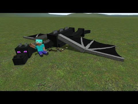 How to tame ender dragon Minecraft Mod Showcase