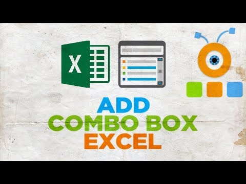 How to Add Combo Box in Excel