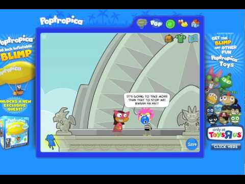 Poptropica Super Power Island Part 2