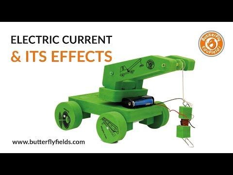 DIY - How to Make Electromagnetic Crane | School Science Project | Butterfly Fields
