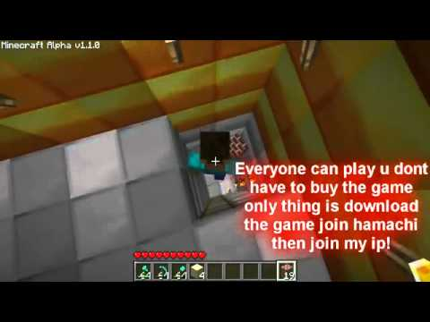  Minecraft Server  My Multiplayer All Admin free download with 100 % real working !