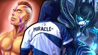 Download MIRACLE is ready for TI9 - Unkillable Anti-Mage & Phantom Assassin Bad Start 7.22 Dota 2 Video
