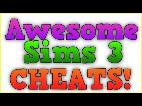 The Sims 3 Awesome Cheats : Testingcheatsenabled true