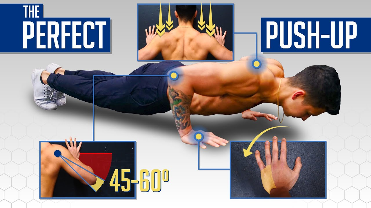 The Perfect Push-Up To Build Muscle (AVOID THESE MISTAKES!)