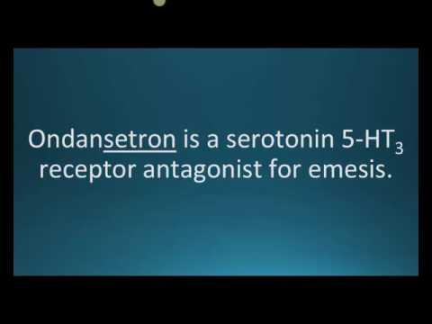 How to pronounce ondansetron (Zofran) (Memorizing Pharmacology Flashcard)