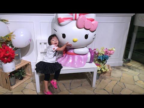 Hello Kitty Cafe / Timezone Arcade games / Changi Airport