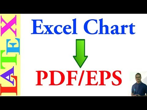 Excel Chart to PDF/EPS for LaTeX (LaTeX: Tips/Solution - 09)