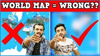 Download The World Map is WRONG! Mistake or Conspiracy? (Hindi Urdu) Video