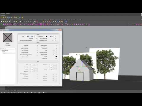 Render trees in Vray for Rhino tutorial