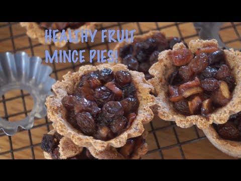 Paleo Fruit Mince Pies- Sugar,Wheat,Dairy free!