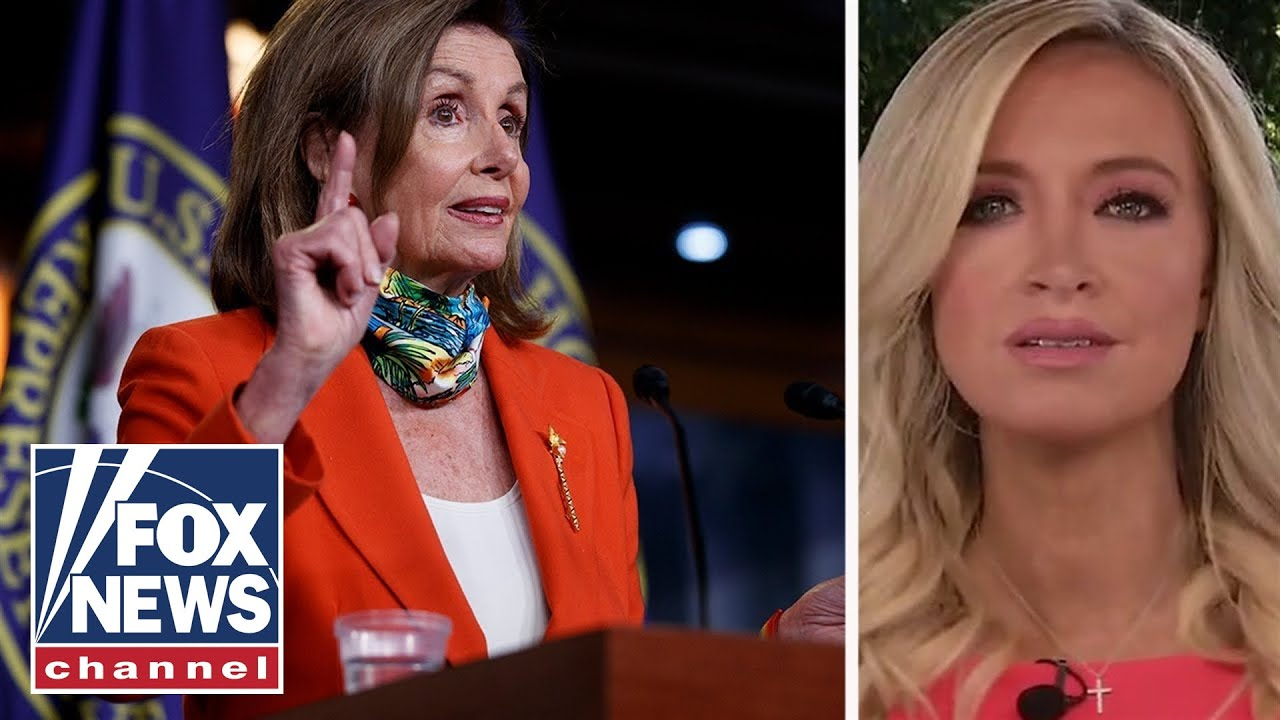 McEnany blasts Pelosi for 'playing politics': It's despicable