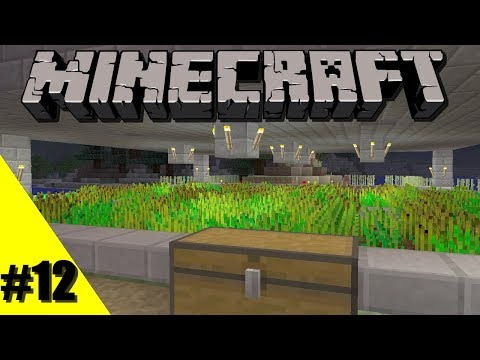 Lets Play Minecraft: Xbox One Survival: Episode 12: Semi Auto Wheat Farm [Xbox One, 360, PS4, 3]