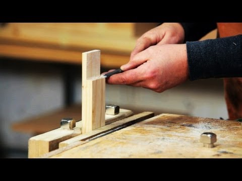 How to Use a Wood Chisel | Woodworking