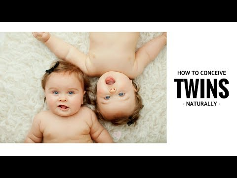 How to Increase the Chances of Conceiving Twins Naturally  ✓