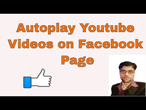 How to Embed Autoplay Youtube videos on Facebook