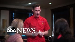 Customers ridicule waiter for stuttering | What Would You Do? | WWYD