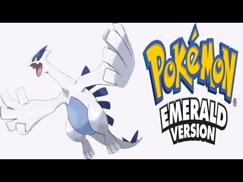 Pokemon Emerald - Lugia  ( Navel Rock Island Event )