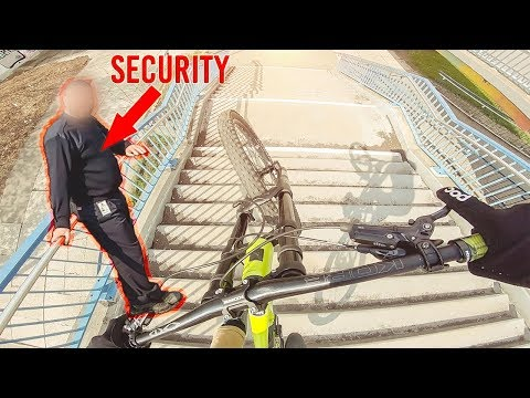 URBAN DOWNHILL MOUNTAIN BIKING LEIPZIG *SECURITY* - Rose Bikes Soul Fire 3 - Lukas Knopf