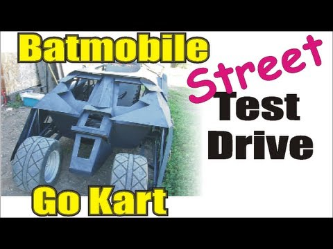 Batmobile go kart ( The Street Drive )