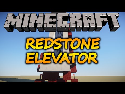 Minecraft - How To Make a Redstone Elevator (ANY VERSION) - No Mods