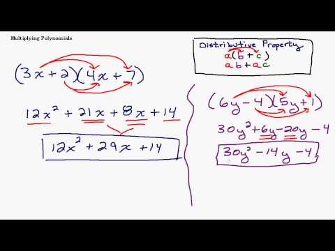 Multiplying Binomials and FOIL