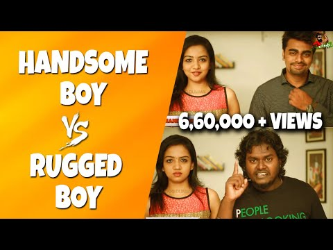 Handsome Boy Vs Rugged Boy | Funny Comparison | Smart Vs Ugly Guys | Sillaakki Dumma