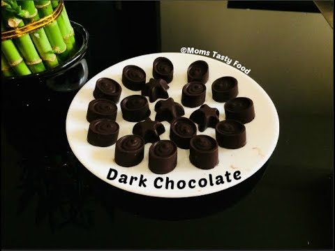 How To Make Dark Chocolate-Homemade Dark Chocolate Recipe-Chocolate With Cocoa Powder(Easy Recipe !)