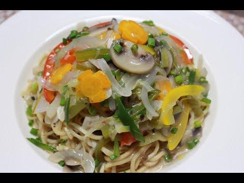 ঝটপট তৈরী হবে এই healthy রেসিপি||Gravy Veg Noodles||Veg Gravy Chowmein||Veg Gravy Noodles Recipe