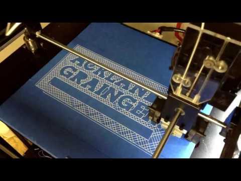 Acklands Grainger Canada 3D Printed Logo