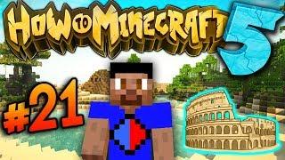 SECRET CASTLE ENTRANCE! - How To Minecraft S5 #21