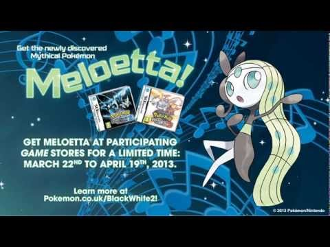 Catch The New Mythical Pokémon Meloetta In-Store!