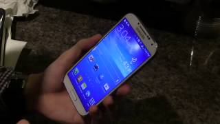 Samsung Galaxy S4 hands-on review - YouTube