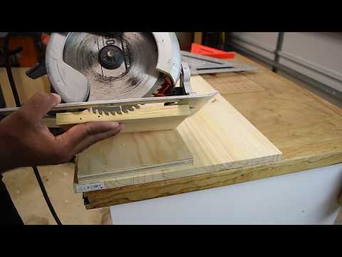 Making Dados With A Circular Saw
