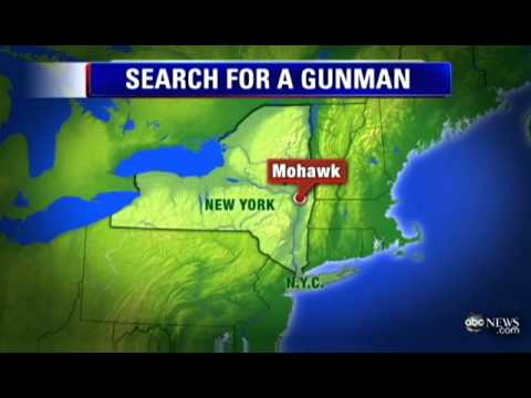 Dragnet for New York Gunman Who KILLED 4, Wounded 2