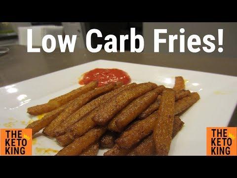 Low Carb Fries | Keto Fries | Low Carb Jicama Fries | Keto Jicama Fries | French Fries