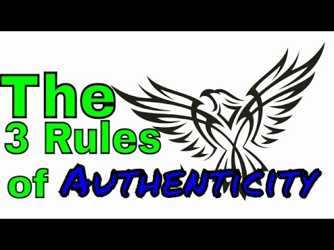 how to find your true authentic self - The 3 rules of identity and knowing yourself