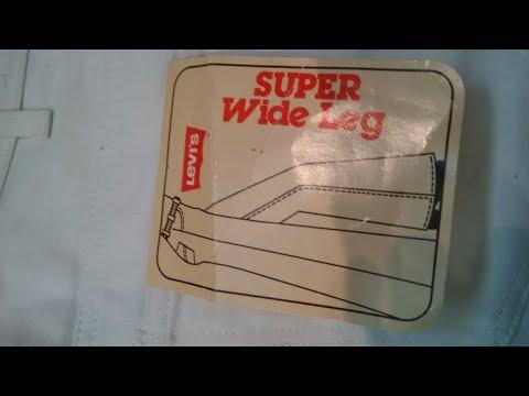 MENS LEVIS  SUPER WIDE LEG JEANS  AND CORDS