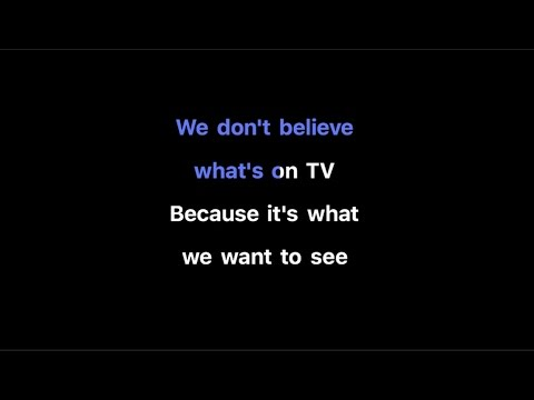 twenty one pilots: We Don't Believe What's On TV Karaoke