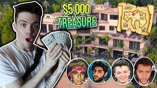 $5,000 TREASURE HUNT IN THE FAZE HOUSE! (insane)