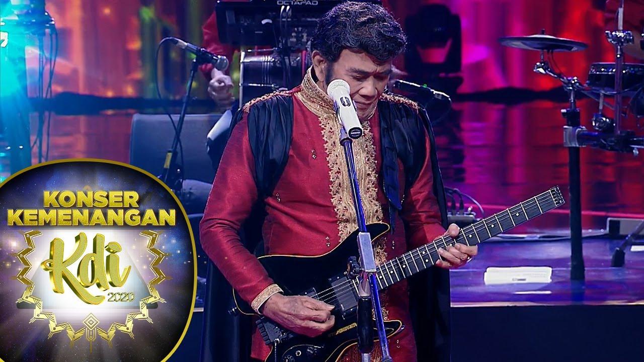 Download Rhoma Irama Bikin Juri Para Ikutan Joget [GULALI] - Konser Kemenangan KDI 2020 MP3 Gratis