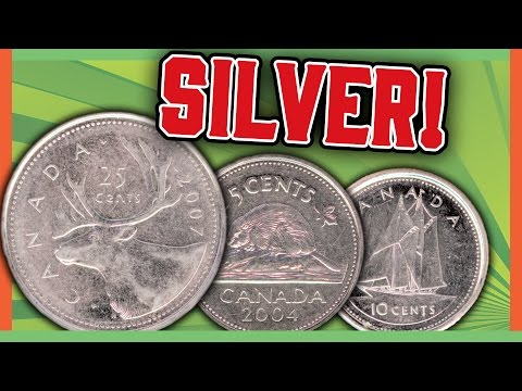 SILVER CANADIAN COINS WORTH MONEY - VALUABLE CANADIAN COINS!!