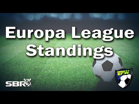 Europa League Soccer Odds and Standings Rundown