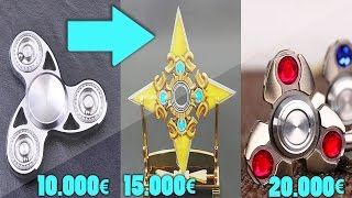 Download LES 10 HAND SPINNER LES PLUS RARES ET LES PLUS CHERS DU MONDE ! 250€ VS 20000€ ! Video