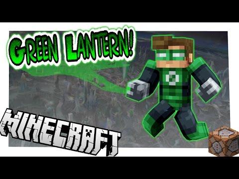 Green Lantern In Vanilla Minecraft! [1.10.2 Command]