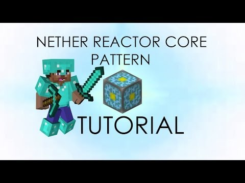 Minecraft PE Nether Reactor Core How to Activate Tutorial