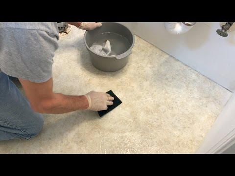 Luxury Vinyl Tile Installation Step 1: Preparing the Floor