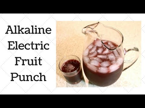 Fruit Punch Dr. Sebi Alkaline Electric Recipe
